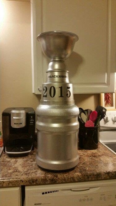 DIY STANLEY CUP   Dana's DIY Projects   Hockey birthday