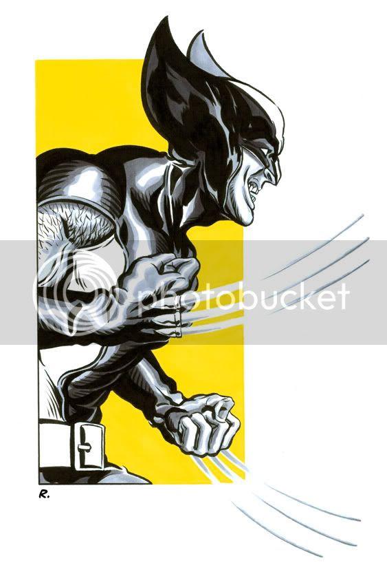 Graeme Neil Reid,Illustration,Wolverine