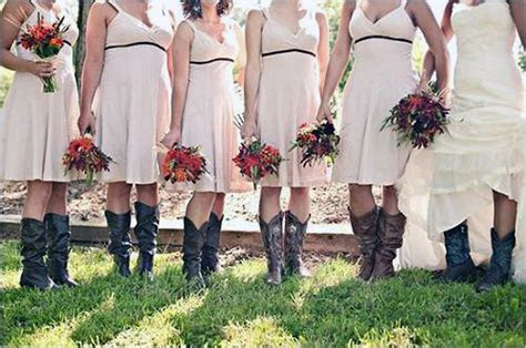 Country Themed Wedding Bridesmaid Dresses 2013