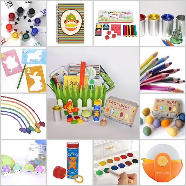 Stubby Pencil Studio Easter Basket Giveaway -- begins Monday!
