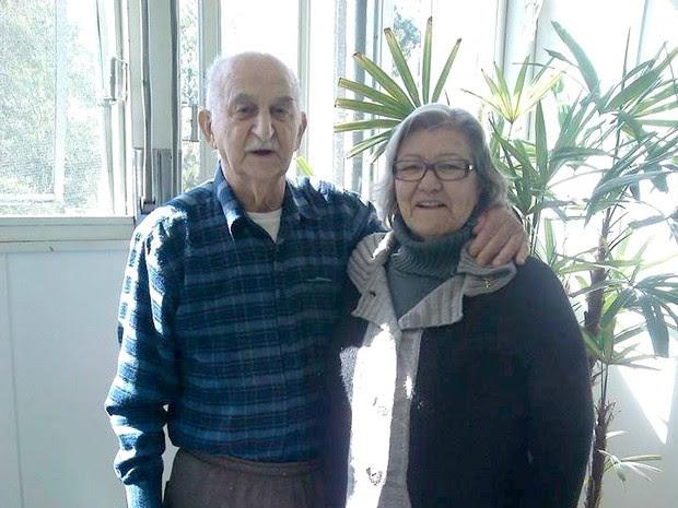 Italvino e Diva deixaram um exemplo de amor para os familiares (Foto: Fátima Possa Nunes/Arquivo pessoal)