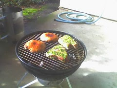 New Year's Day Grilling