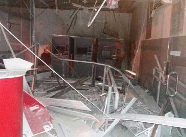 Chorrochó: Grupo armado destrói única agência e dispara contra sede da PM