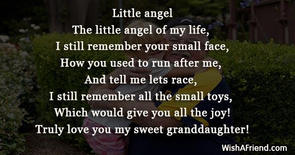 Poems For Granddaughter