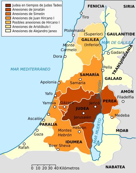 Map Hasmonean Kingdom-es.svg