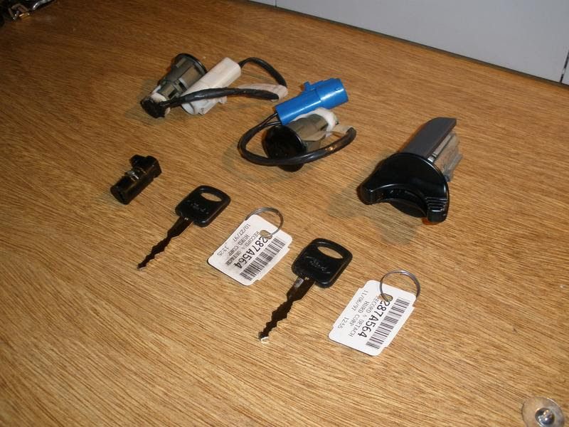 How To Replace Ignition Door Lock Cylinders Ranger