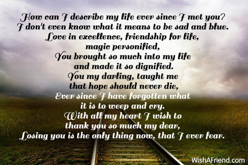 Life With You Love Poem