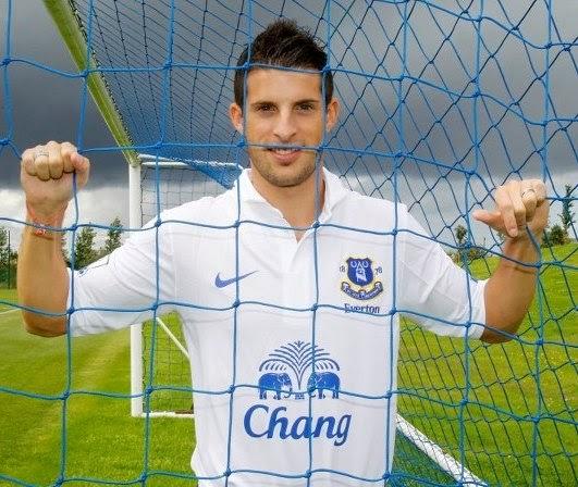 Everton New Third Kit 2012/13- Mirallas unveils Nike third shirt
