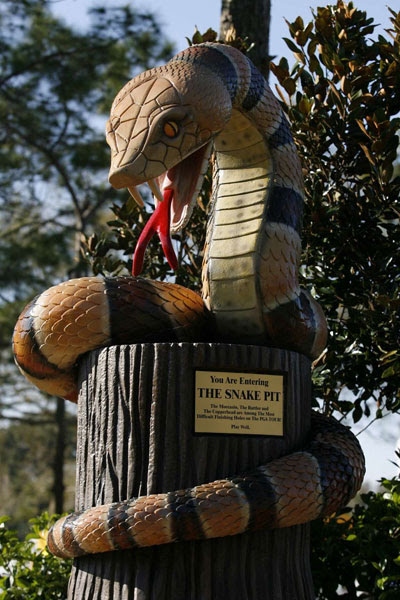 Statue at the 16th at Innisbrook