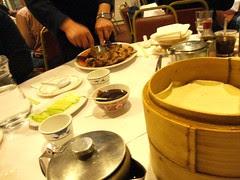 egg pancake crsipy duck wong kei london