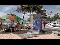 Bioduchas nas praias de Jaboatão