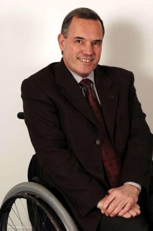 Alain Rochon,président de l'Association des paralysés de France.
