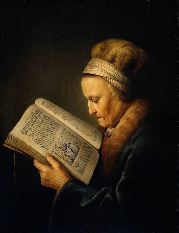 Портрет матери Рембрандта. Художник Доу Герард, 1631 год матери, такие разные