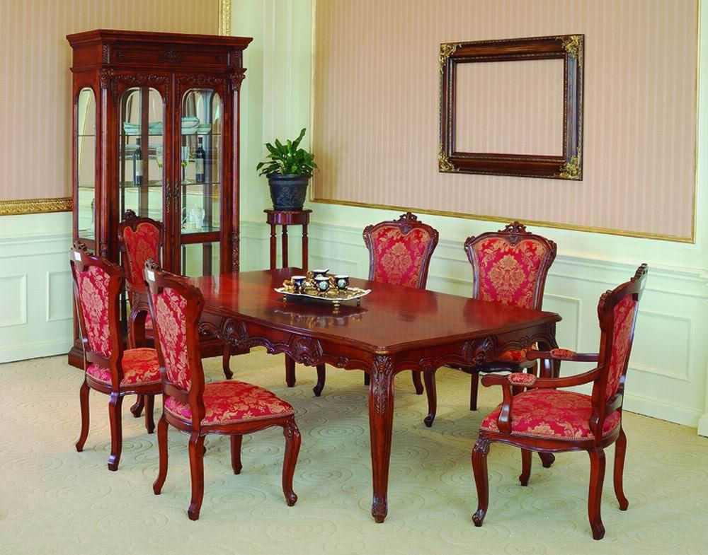 Lavish Antique Dining Room Furniture Emphasizing Classic ...