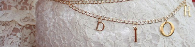 How to make a designer chain belt