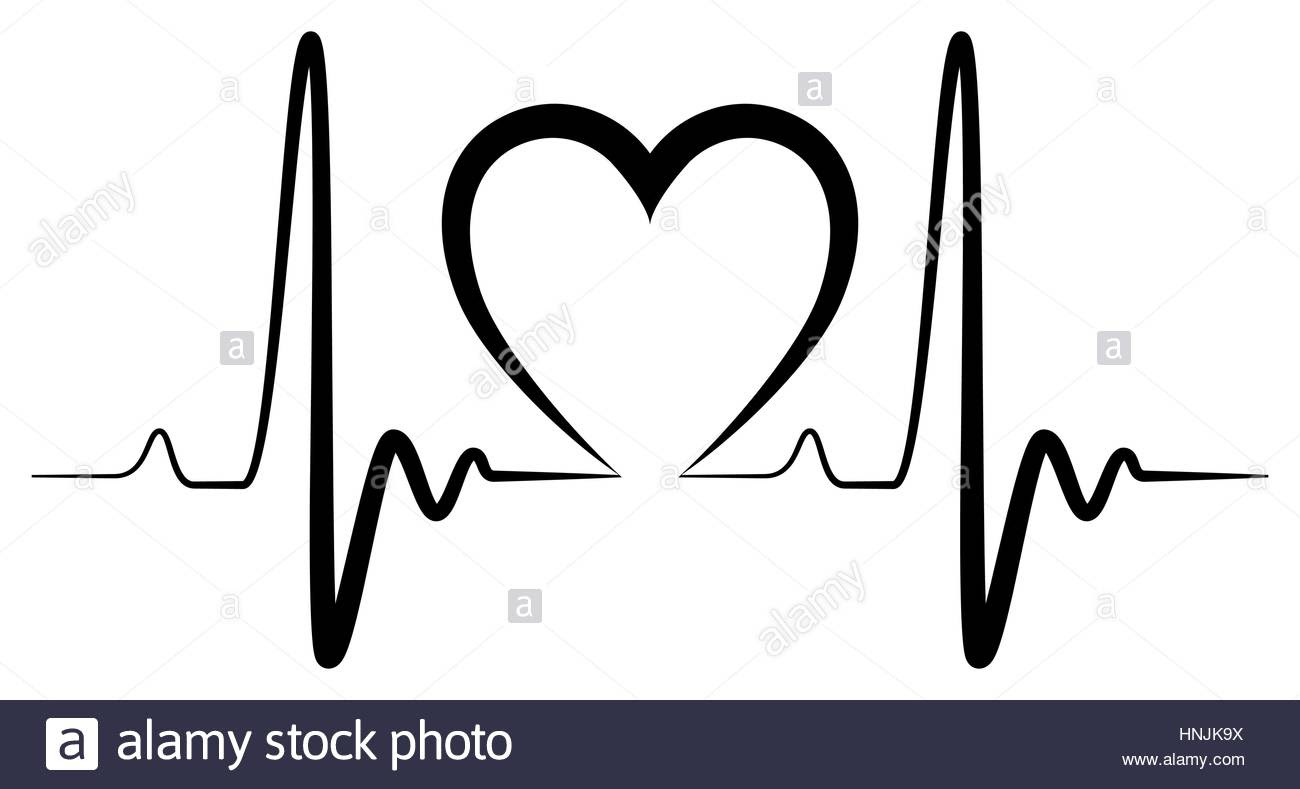 Heartbeat Drawing Pictures Drawing Art Ideas
