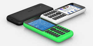 Microsoft unveils $29 internet-connected feature phone