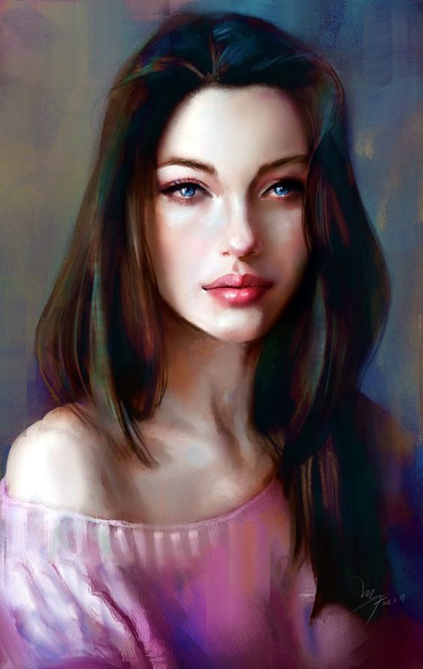 Spectacular Digital Painting Portraits (15)
