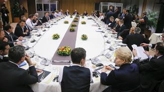 Sopar de treball, aquest divendres, per aconseguir l'acord (Reuters)