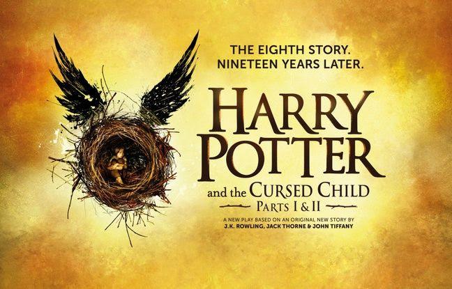 L'affiche de la pièce de théâtre «Harry Potter et l'enfant maudit».