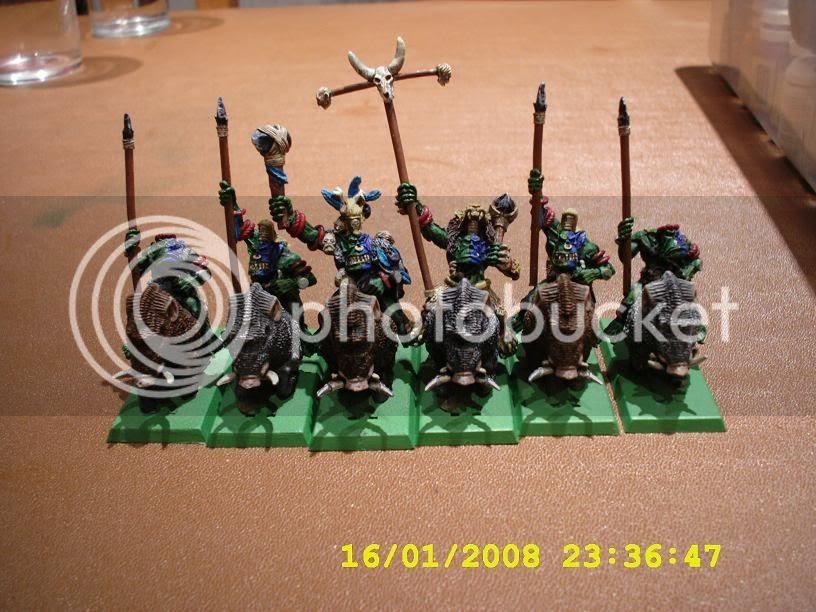 Savage Orc Boar Boys