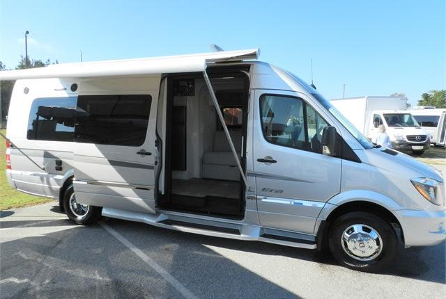 A MY-2015 Sprinter converted into a Winnebago Touring ...