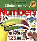 Sticker Activity Numbers (Early Learning: Sticker Activity)