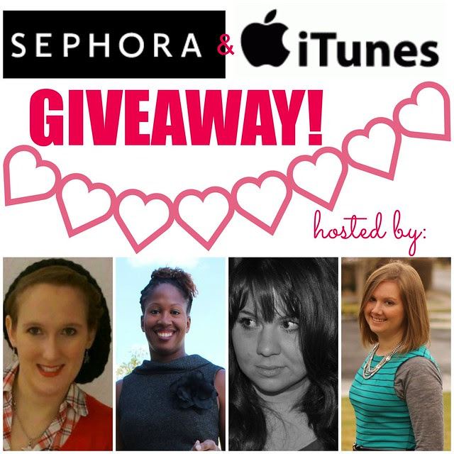 Sephora Itunes giveaway collage