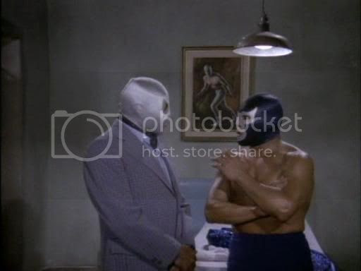Santo and the Blue Demon