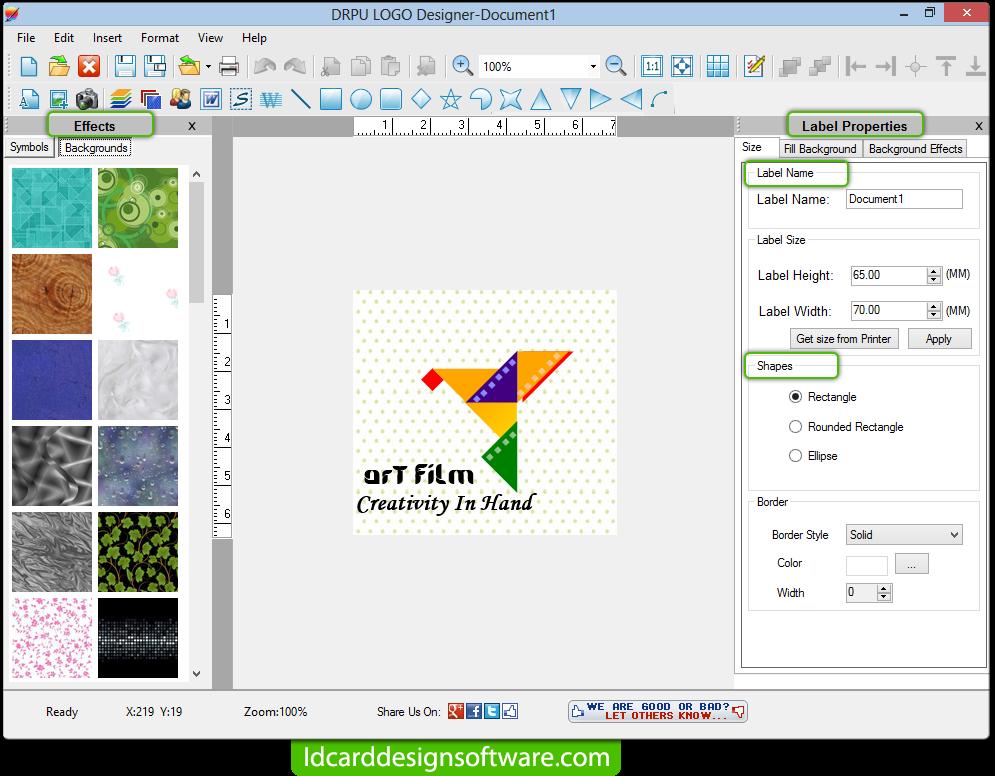 Logo designing software create corporate business ...