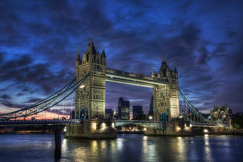 Tower Bridge Blue Hour