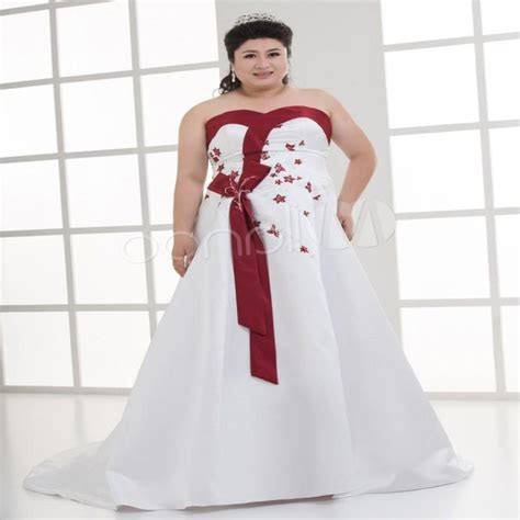 Plus size black and white wedding dresses   PlusLook.eu