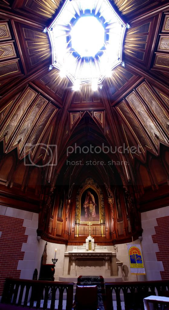 Vertical St. Luke's Chapel Pano