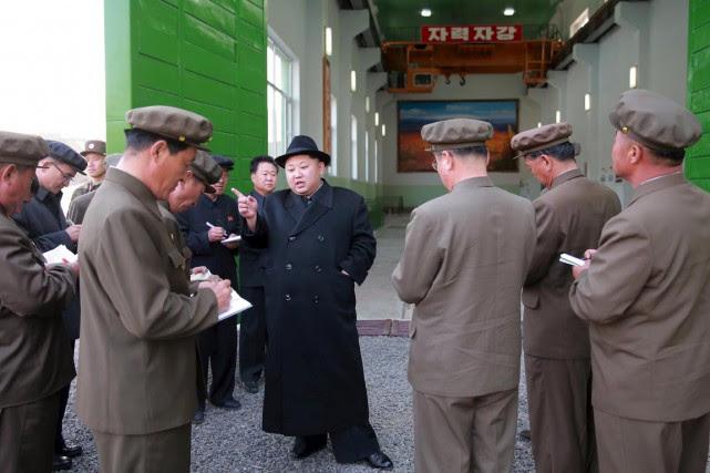 La Corée du Nord a apparemment lancé un... (Photo Reuters)