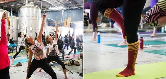 Esta ioga inspirada em Harry Potter vai deixar mais divertida sua forma de se exercitar