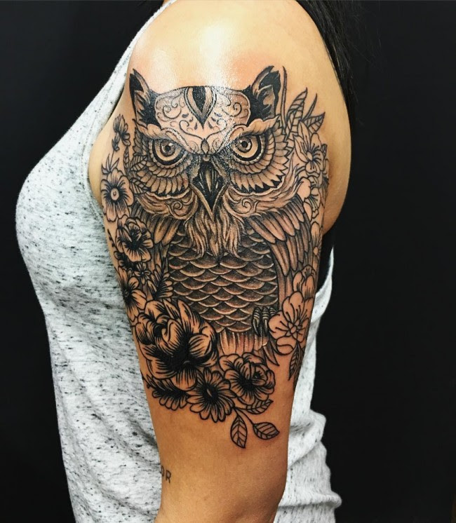 95 Best Photos Of Owl Tattoos Signs Of Wisdom 2019