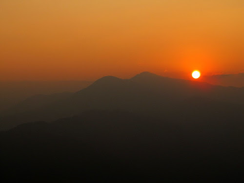 sarankot sun set