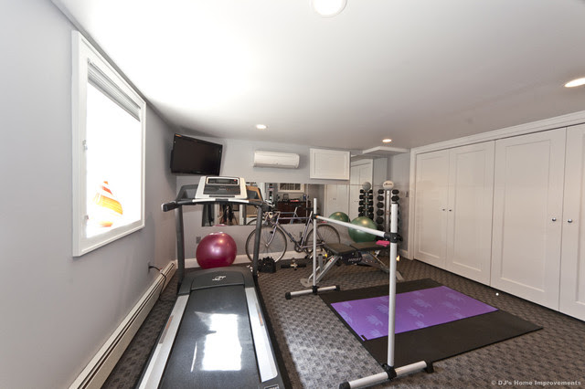 Modern Contemporary Basement Design Build Remodel - modern - home ...