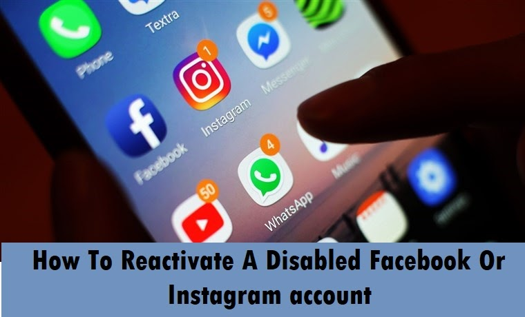 TechGYD | How To Reactivate A Disabled Facebook Or Instagram account