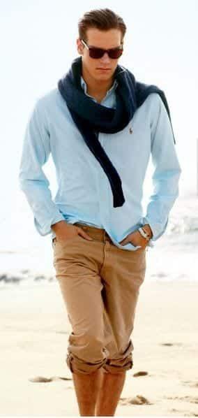 khakhi pants outfit ideas5