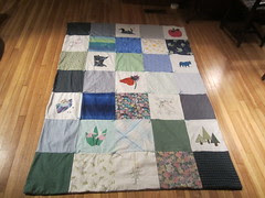 Completed MN State Quilt