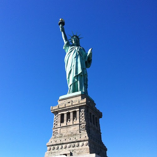 This time from Liberty Island!