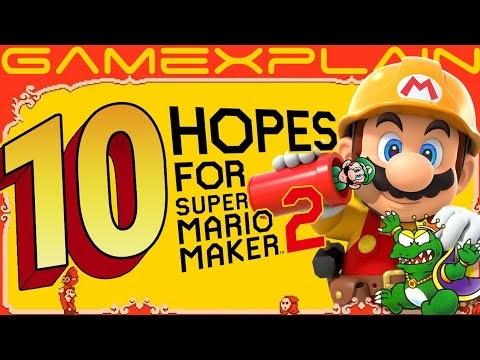 Plank2424 Top 10 Hopes For Super Mario Maker 2