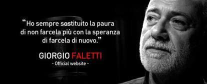 La scomparsa di Giorgio Faletti