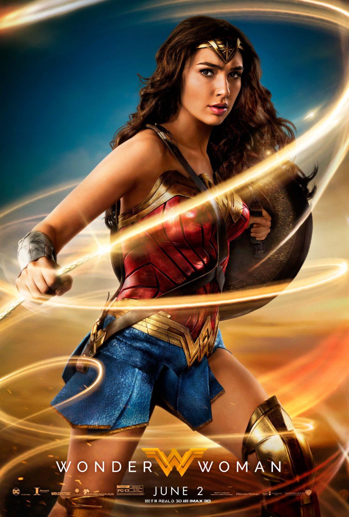 Image result for wonder woman poster