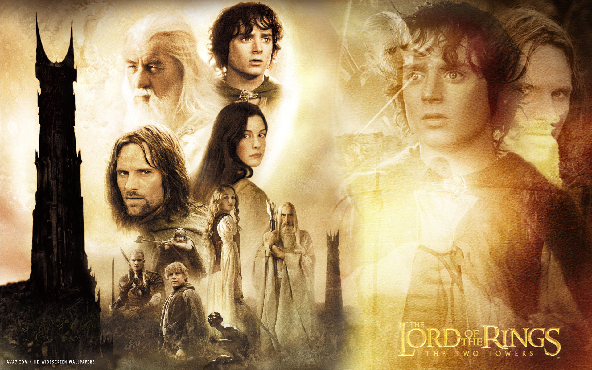 Lord Of The Rings The Two Towers Movie Hd Widescreen Wallpaper