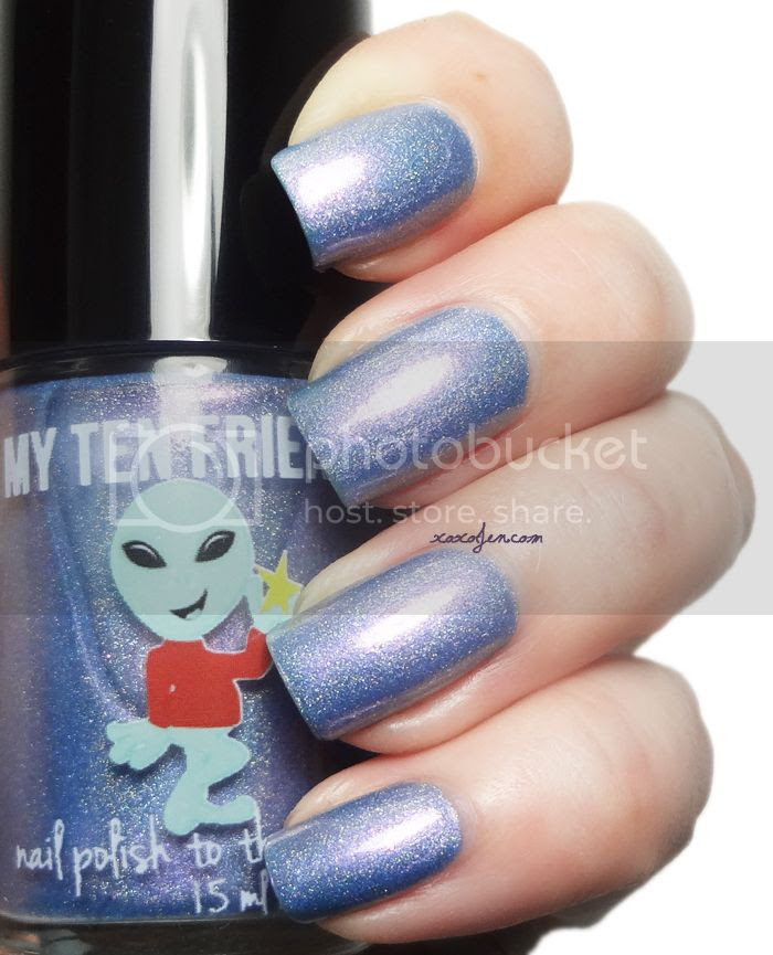 xoxoJen's swatch of My Ten Friends Area 51