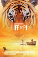 Poster art for Life of Pi 3D