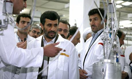 Presidente iraniano Mahmoud Ahmadinejad em 2008