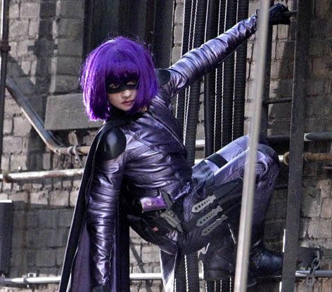 Hit-Girl (Chloë Grace Moretz) is ready to spout more profanities and actually kick ass in KICK-ASS 2.